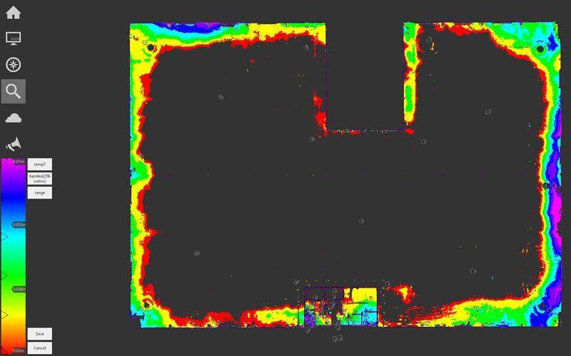 UAH Building a floor tolerance 20mm-70mm